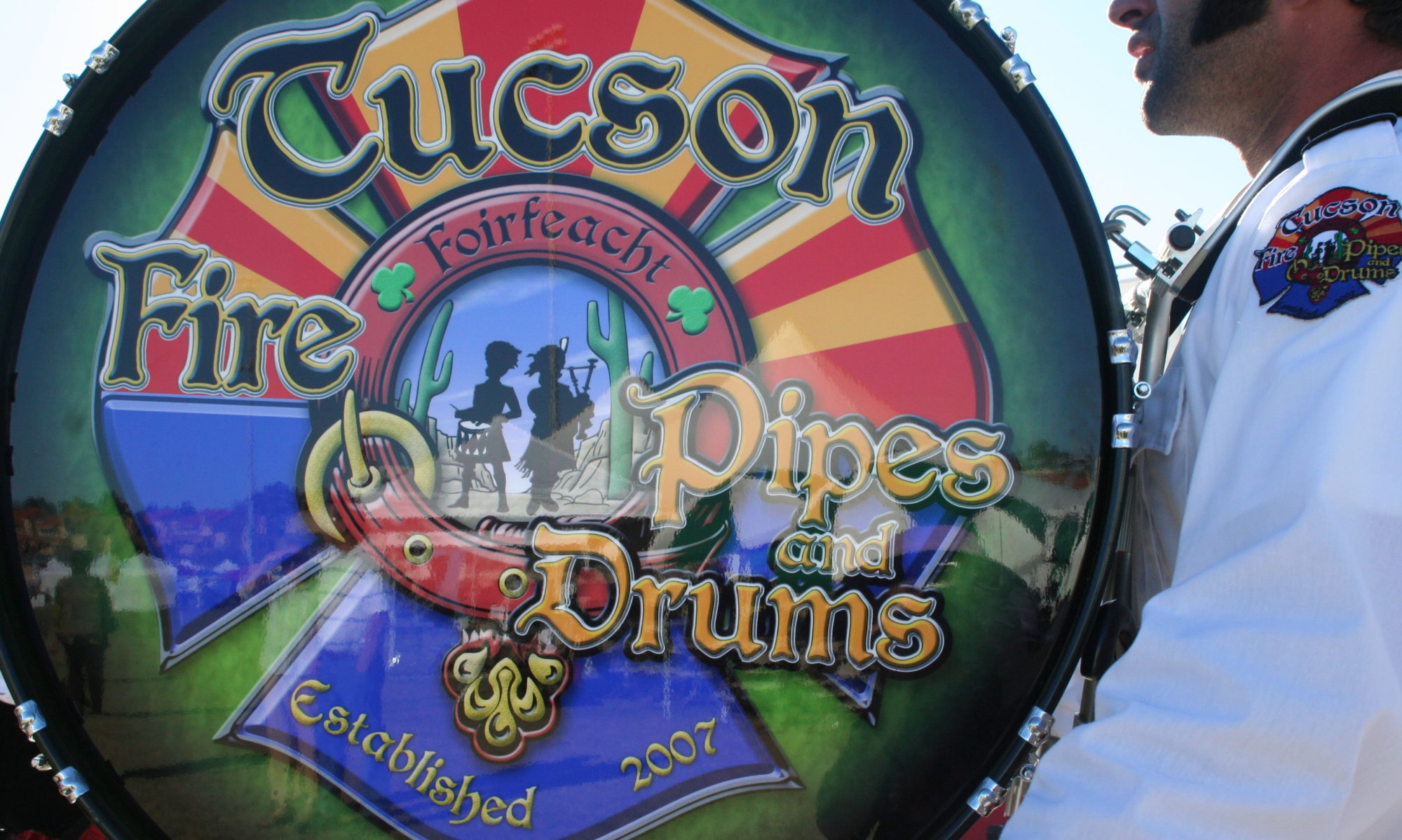 Tucson Fire Pipes and Drums